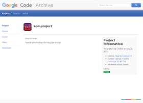 kod-project.googlecode.com