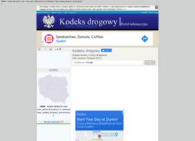 kodeks-drogowy.org