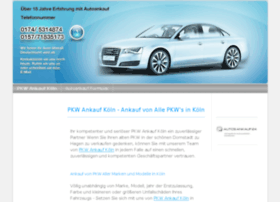 koeln-pkw-ankauf.jimdo.com