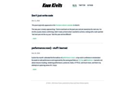 koen.kivits.com