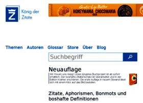 koenig-der-zitate.de