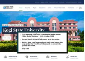 kogistateuniversity.edu.ng