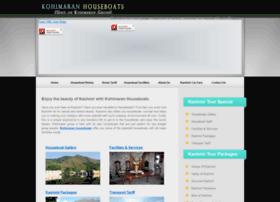 kohimaranhouseboats.com