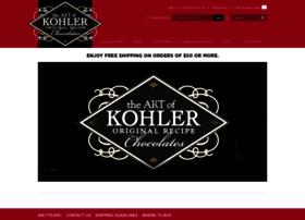 kohlerchocolates.com