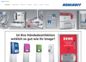 kohlhoff-hygiene.de