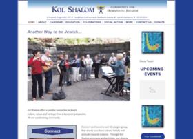 kolshalom.squarespace.com