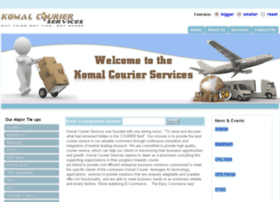komalcourierservices.com