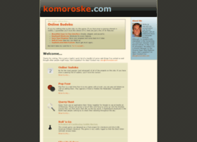 komoroske.com