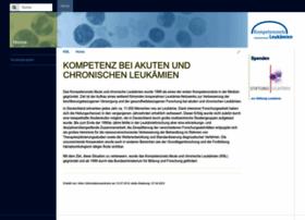 kompetenznetz-leukaemie.de