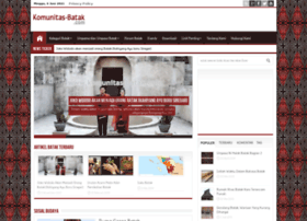 komunitas-batak.com