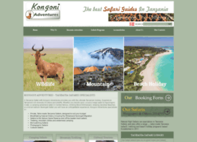 kongoniadventures.com