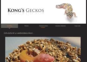 kongsgeckos.com