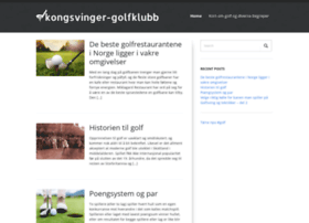 kongsvinger-golfklubb.no