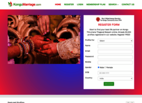 kongumarriage.com