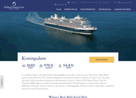 koningsdam.hollandamerica.com