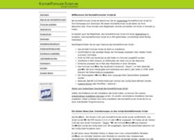 kontaktformular-script.de