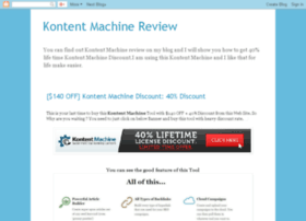 kontentmachinereviews.blogspot.com