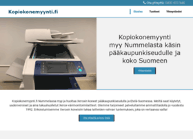 kopiokonemyynti.fi