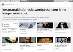 Korananakindonesia.wordpress.com