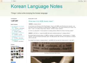 koreanlanguagenotes.blogspot.com.br
