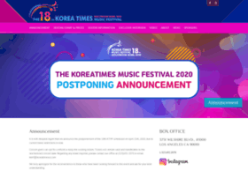 koreanmusicfestival.com