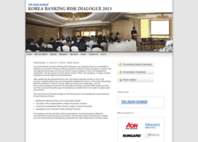 koreariskdialogue2013.asianbankerforums.com