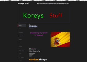 koreysstuff.weebly.com