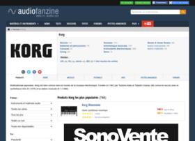 korg.audiofanzine.com