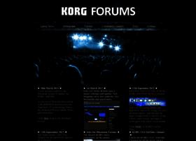 korgforums.com