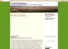korinthiusmaximus.blogspot.com