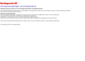 kortingscode.eu