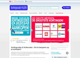 kortingscodeplein.nl