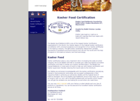 koshercertification.org.uk