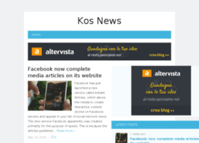 kosnews.altervista.org