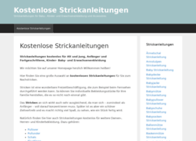 kostenlose-strickanleitungen.de