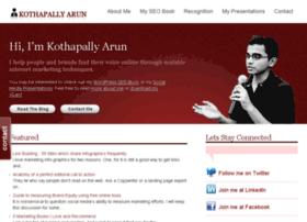 kothapallyarun.com