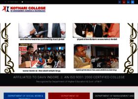 kotharicollege.com