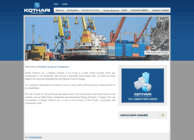 kothariproducts.in