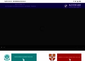 kotharischool.edu.in