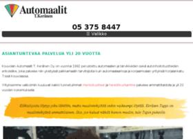 kouvolanautomaalit.fi