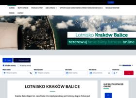 krakow-balice.com.pl