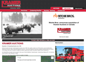 kramerauction.com