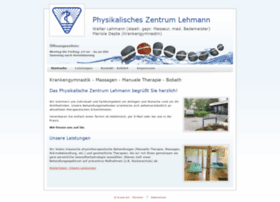 krankengymnastik-lehmann.de