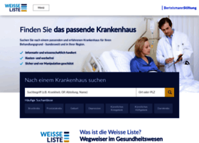 krankenhaus.weisse-liste.de