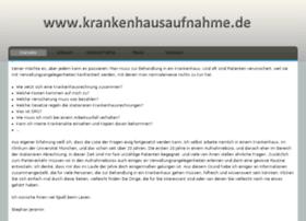 krankenhausaufnahme.de