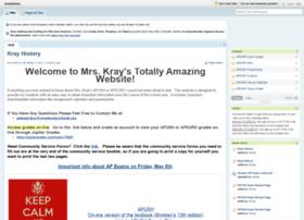 krayhistory.pbworks.com