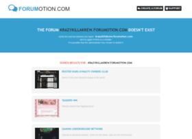 krazykillakrew.forumotion.com