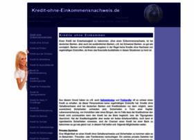 kredit-ohne-einkommensnachweis.de