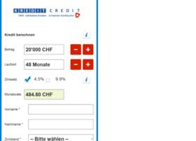 kreditcredit.ch