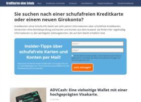 kreditkarten-ohne-schufa.info